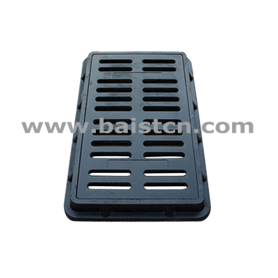 380x680mm Water Grate SMC Materials With High Strength