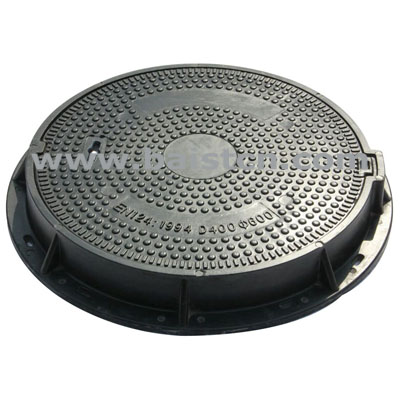 C/O 600mm Composite Manhole Cover With St