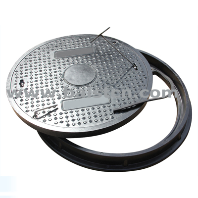 manhole cover with rubber gasket