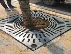 resin tree grating