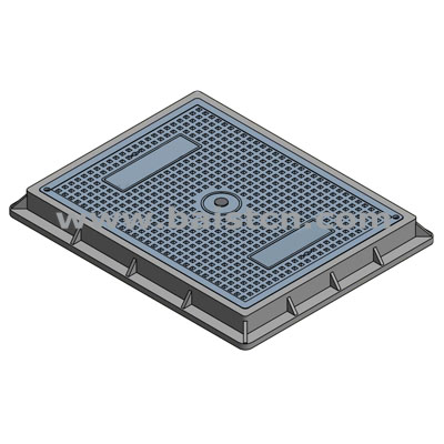 New Mold 450x600mm Resin Manhole Cover wi