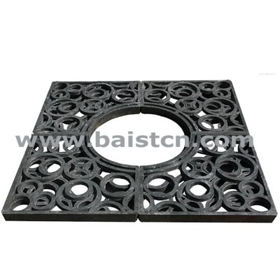 1300x1300mm Composite Tree Grating With H
