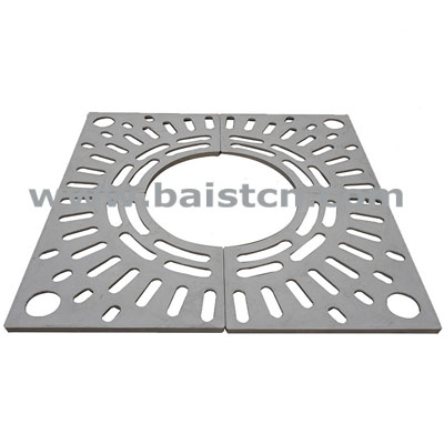 1200x1200mm Composite Materials Tree Grating