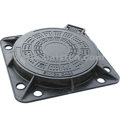 SMC Sewer Cover And Square Frame 750mm D4
