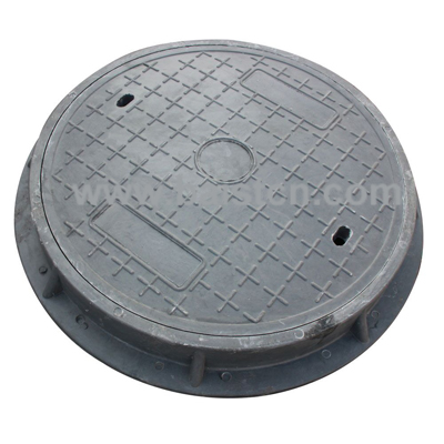 SMC Manhole Cover EN124 D400 700x70mm Wit