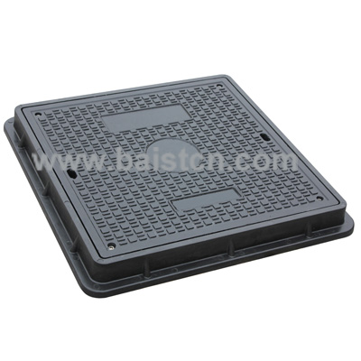 EN124 C250 Clear Opening 600x600mm Resin Manhole Cover