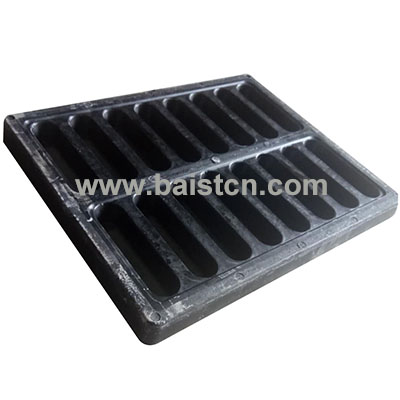 400x500x40mm BMC Trench Cover With Flame