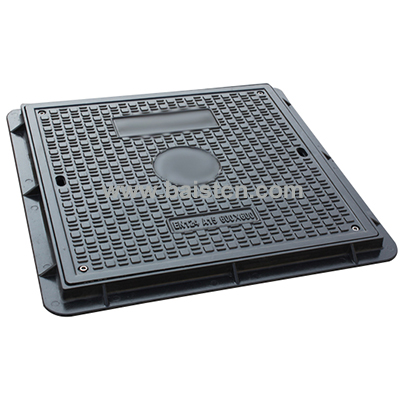 650x650mm B125 SMC Resin Manhole Cover With Flame Retardant