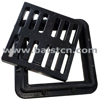 Composite Water Grate 400x400mm D400 Sewage Place